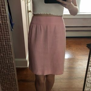 Valentino Boutique Pink Pencil Skirt